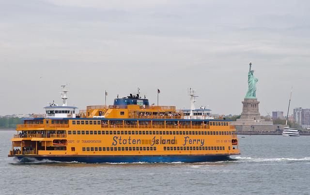 Staten Island Ferry by CC user skinnylawyer on Flickr
