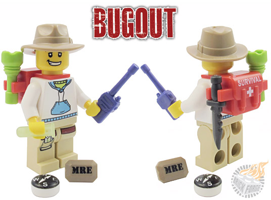 Bug out Lego