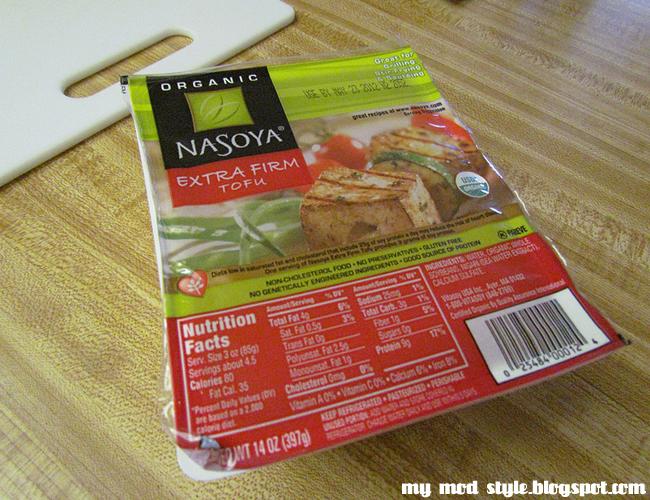 RECIPE tofu