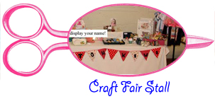 set up a craft fair stall to sell