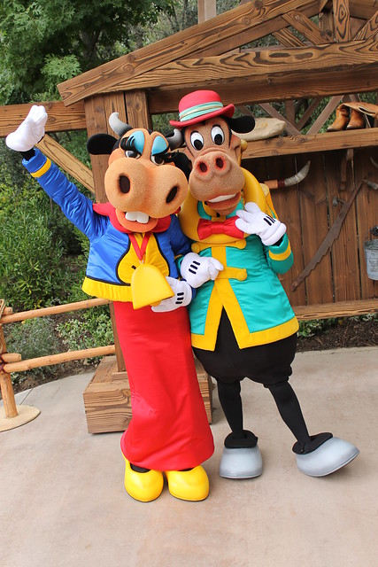 Clarabelle and Horace by DisneyLizzi on deviantART  Horace Horsecollar And Clarabelle Cow