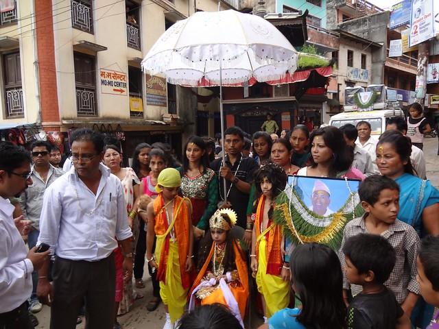 Festival das vacas em Tansen, Nepal