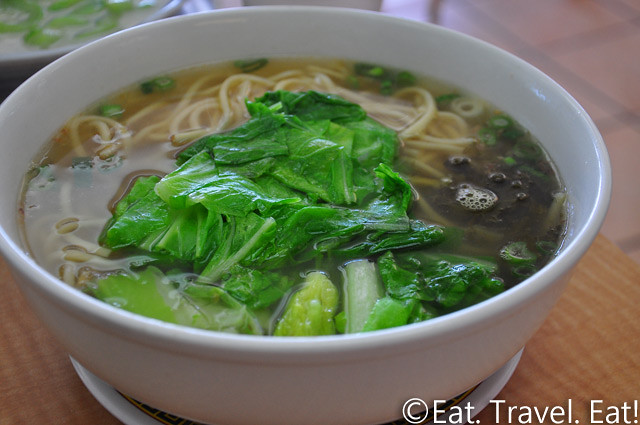 May's Cafe- Arcadia, CA: Pork Chop Noodles Soup