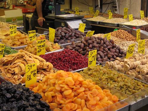 dried fruits @ Mahane Yehuda Market