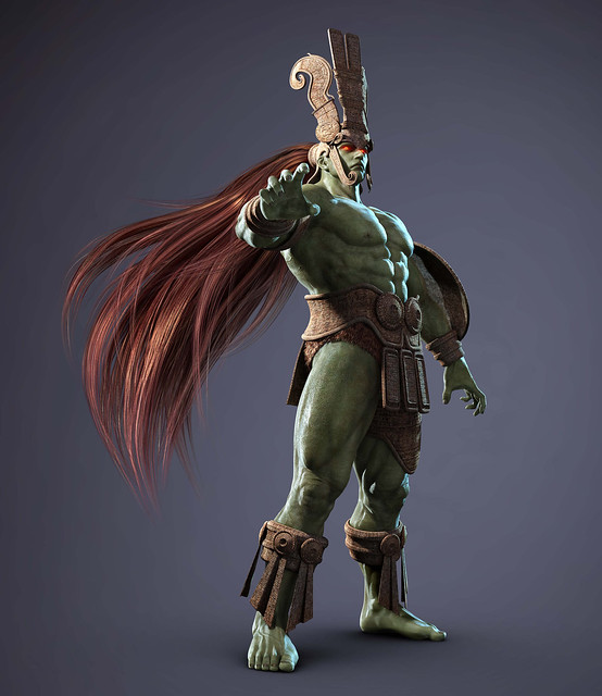 Tekken TAG Tournament 2 Ancient Ogre