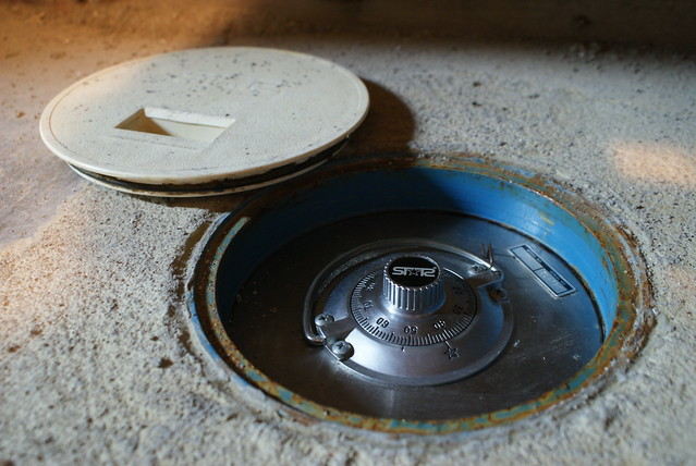 Hidden floor safe flickr photo sharing for Hidden floor safe