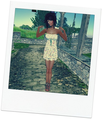 G&N - Summer Mesh Dress Set (free) by Cherokeeh Asteria