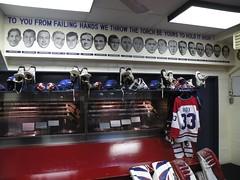 Montreal Forum Locker Room Recreation