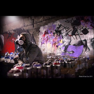 Will takes a break during the Underbelly project Paris, #wallkandy #willbarras #underbellyproject #paris #streetart #graffiti #metro #urbex #art