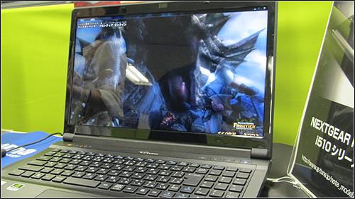 マウスコンピュータのNEXTGEAR-NOTE i510とi760を比較