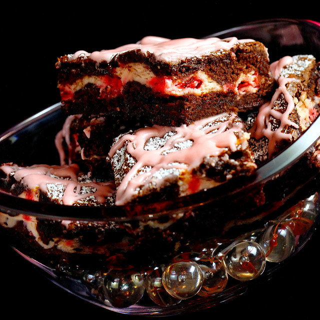 Chocolate Cherry Cheesecake Brownies | Flickr - Photo Sharing!