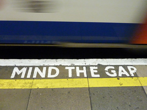 Mind the Gap w/ train