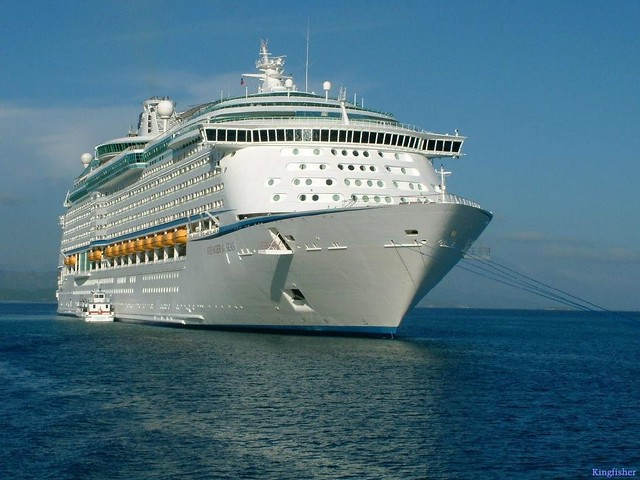 Voyager of the Seas Launch