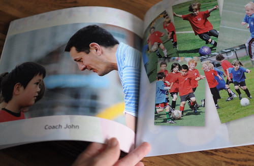 soccer team photo book