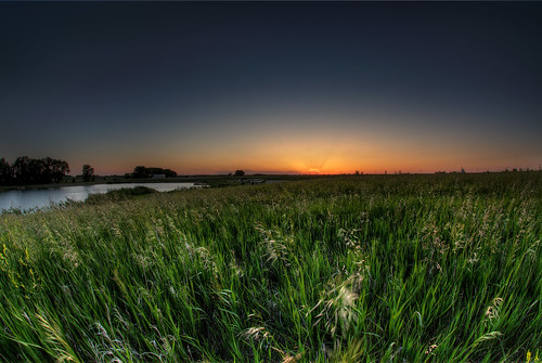 sunset sky water field grass southdakota pond prairie familypark siouxfalls wildgrass