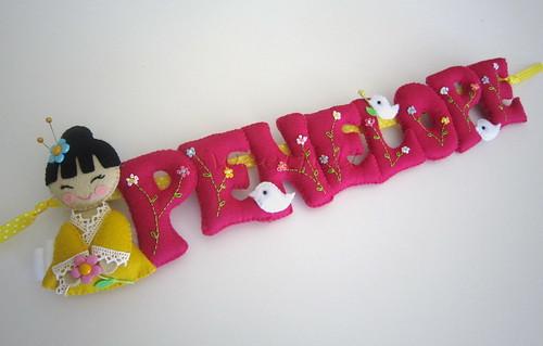 ♥♥♥  Penelope... by sweetfelt \ ideias em feltro