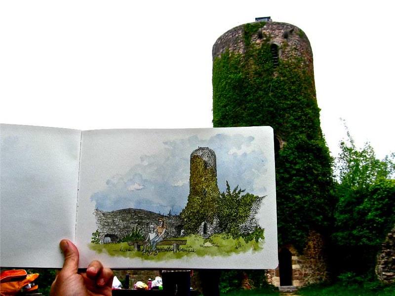 Sausenburg ruins