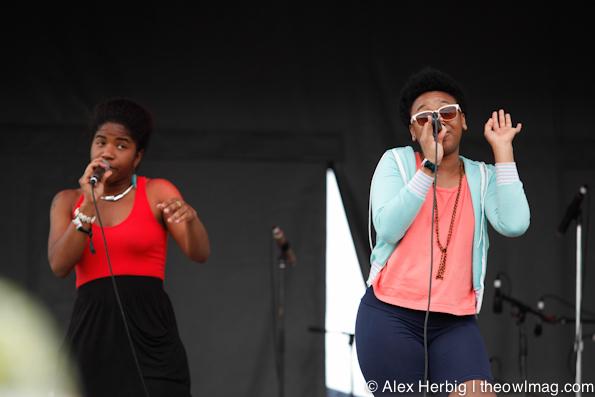 THEE Satisfaction @ Sasquatch Music Festival 2012