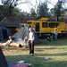 ZJ Bus Tours & Overland Trucks at Malealea, Lesotho