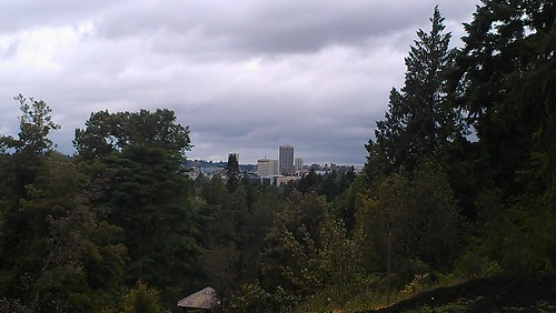 U district from Arboretum, looks like downtown Tacoma by christopher575