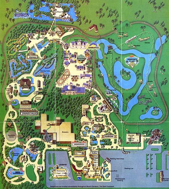 Busch Gardens 1985 Flickr Photo Sharing