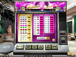 free Magic Love slot game symbols