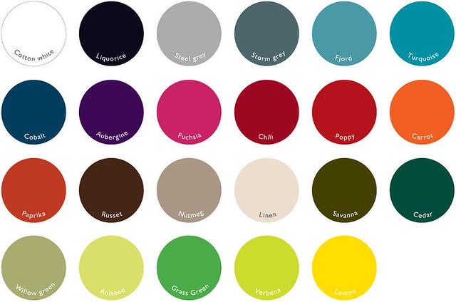 Fermob kleuren 2012