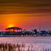 Morris Island Sunset by Bill Varney