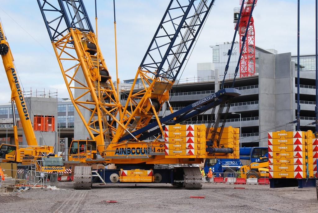 Terex Demag CC2500-1 Crawler Crane (500 ton)