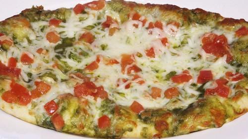 Trader Joe's Tomato and Pesto Flatbread by Coyoty