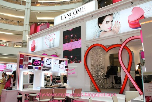 rouge in love booth
