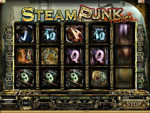 Steam Punk Heroes slot game online review