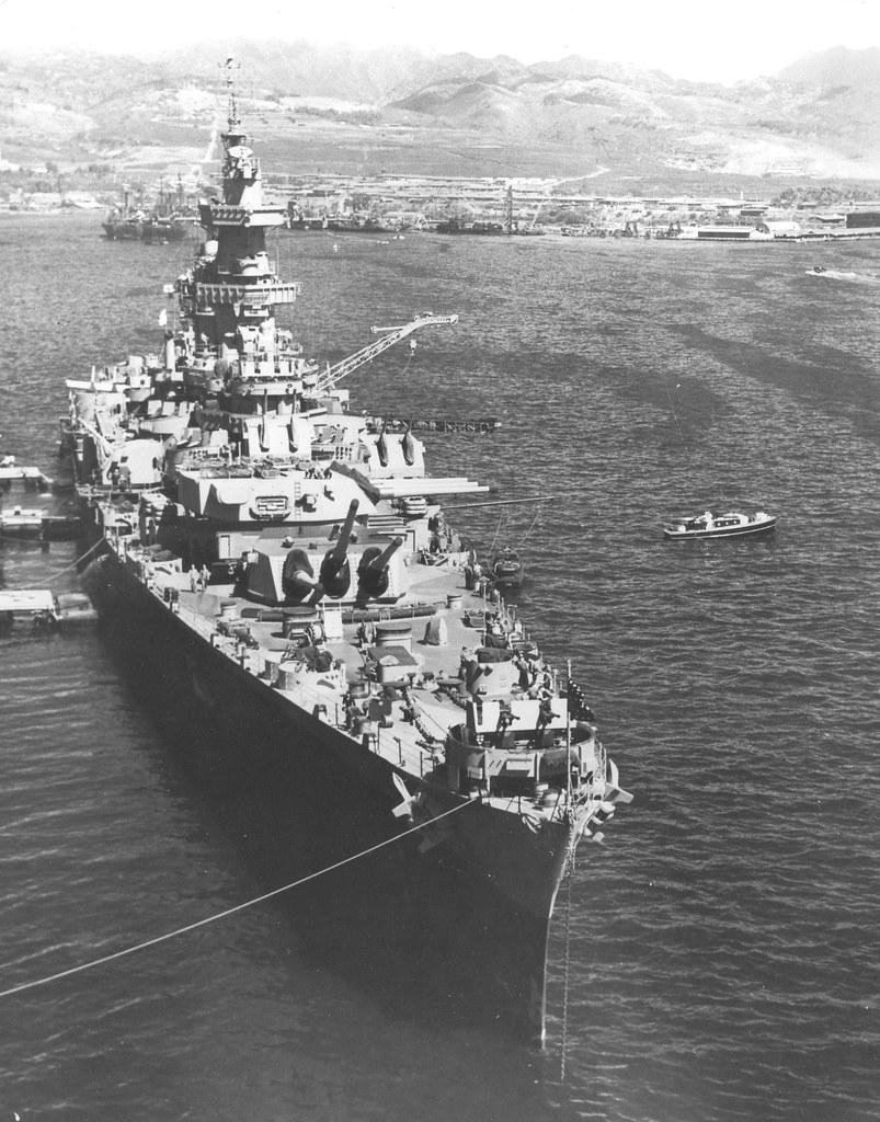 Heavy Cruiser USS Guam