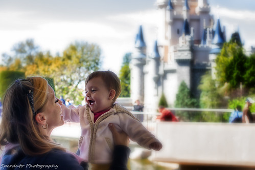 Happiness at the Magic Kingdom