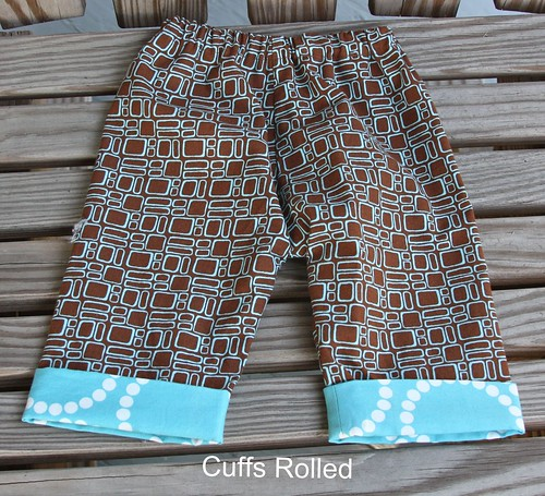 Newborn Pants - Cuffs Rolled Up