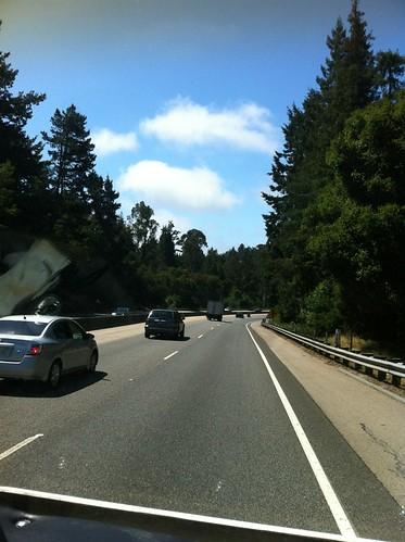 Leaving Santa Cruz