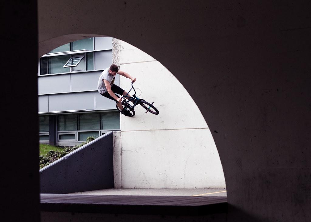 Slade Wallride in Vancouver for oh so visual