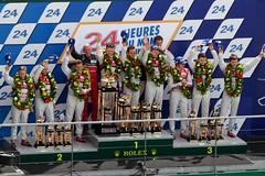 ルマン決勝7『Photo:Audi Sport』