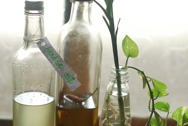 herbed oil