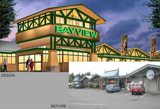 Exterior grocery store design exterior fa ade design for Exterior signage design