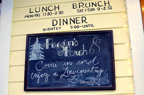 Poogan's Porch Restaurant Charleston, South Carolina