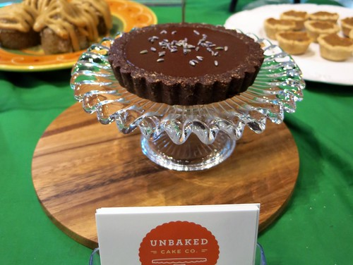 Decadent Raw Dessert - Raw Lavender Chocolate Cheesecake