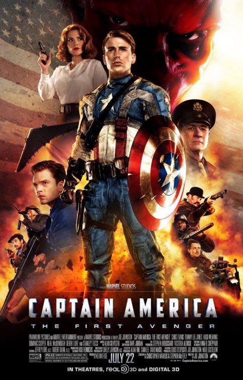 Captain America- The First Avenger (2011)