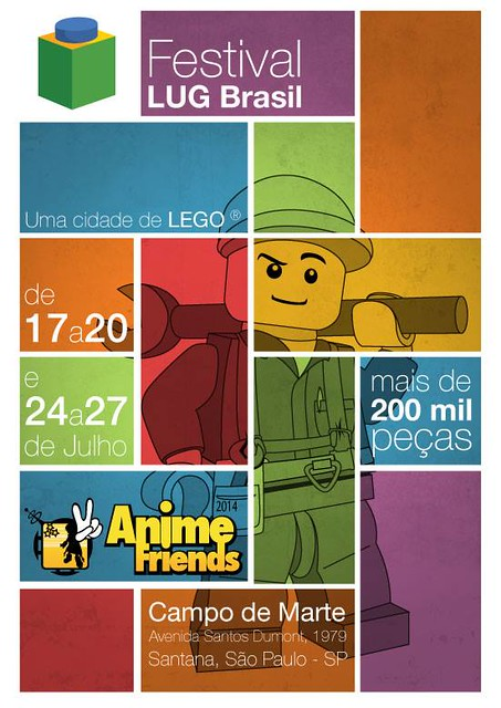 ANIME Friends - Expo Lego Brasil