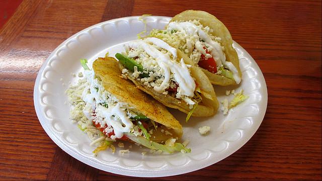 Tacos Dorados from Mexico Lindo in Des Moines, Iowa