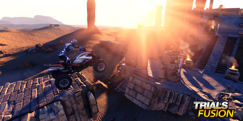 Trials Fusion DLC Riders of the Rustland out now