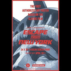 Check out this tease for @GreyMatterArt Next Release, The First Ever Officially Licensed 'Escape From New York' Screen Print By Gabz www.CultCollective.co.uk #escapefromnewyork #snake #snakeplisken #carpenter #johncarpenter