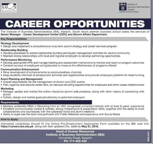 IBA Karachi Jobs 2A 016