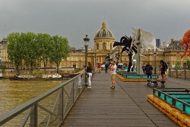 Paris - A moment on the Pont des Arts