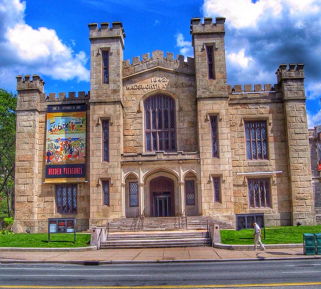 Hartford Connecticut ~ Wadsworth Atheneum Museum of Art ~  Entrance